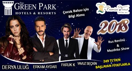 Green Park Hotel Ankara Yılbaşı