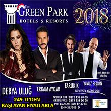 Green Park Hotel Ankara Yılbaşı 2018