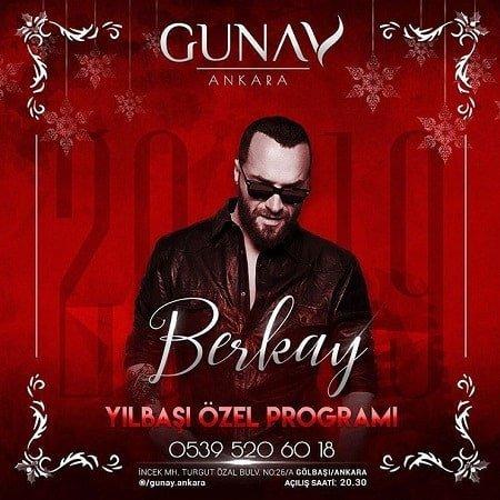 Günay Ankara Yılbaşı Programı 2019