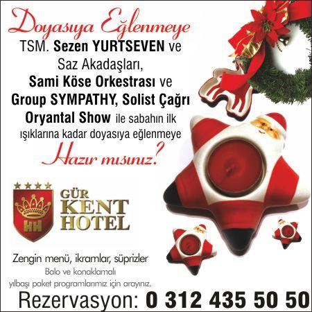 Gür Kent Otel 2015 Yılbaşı Programı