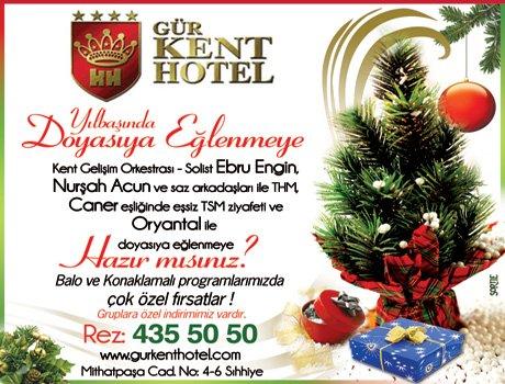 Gür Kent Hotel 2011 Yılbaşı Programı