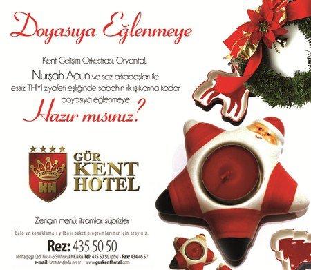 Gür Kent Otel 2012 Yılbaşı Programı
