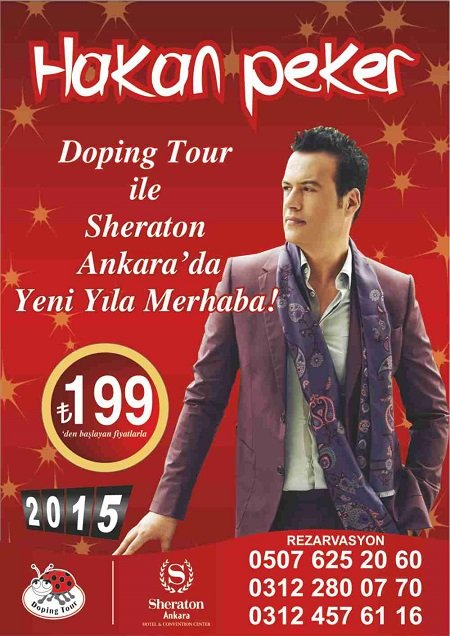 Sheraton Ankara 2015 Yılbaşı Programı