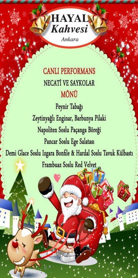 Hayal Kahvesi Ankara Yılbaşı Programı 2015