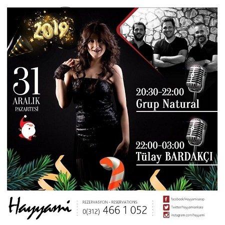 Hayyami Ankara Yılbaşı 2019