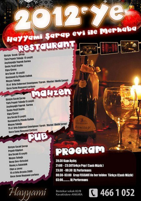 Hayyami 2012 Yılbaşı Programı