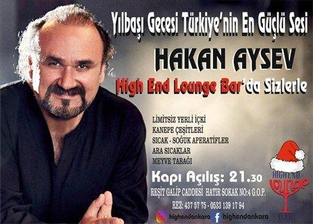 High End Lounge Ankara Yılbaşı 2019
