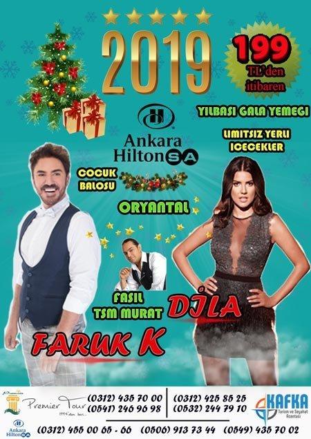 HiltonSA Ankara Yılbaşı 2019