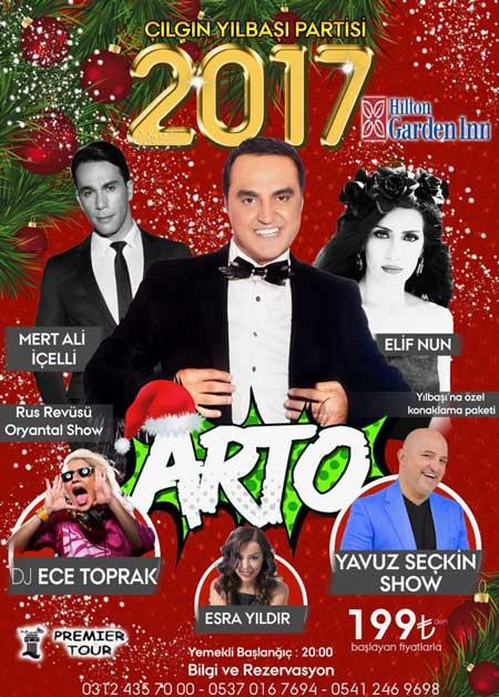 Hilton Garden Inn Yılbaşı Programı 2017 – ARTO