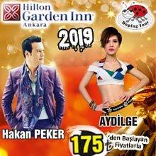 Hilton Garden Inn Ankara Yılbaşı 2019