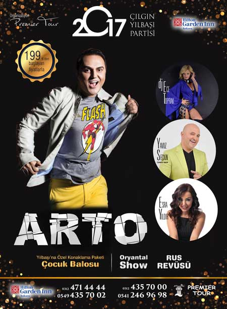 Hilton Inn Ankara 2017 Yılbaşı
