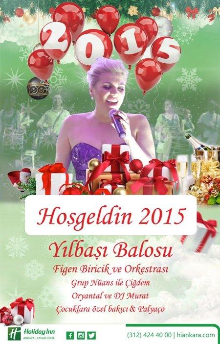 Holiday Inn Otel 2015 Yılbaşı Programı