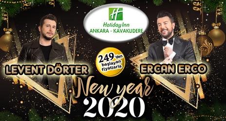 Holiday Inn Kavaklıdere Ankara 2020 Yılbaşı