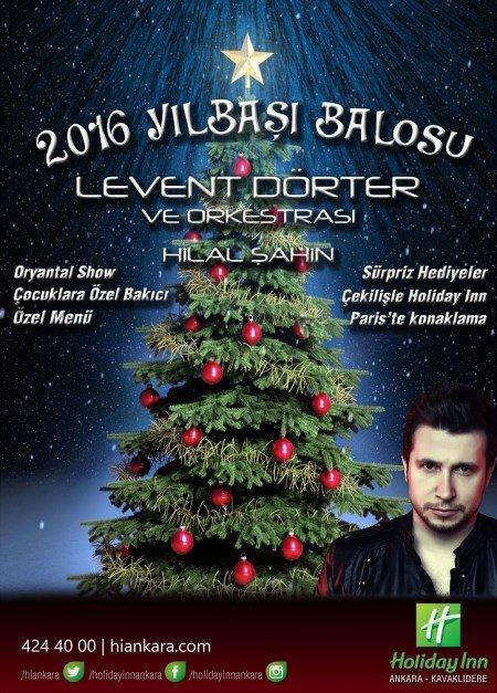 Holiday Inn Ankara Yılbaşı Programı 2016