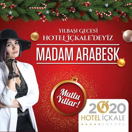 Hotel İçkale Yılbaşı Programı 2020