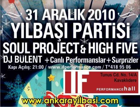 IF Performance Hall 2011 Yılbaşı Programı