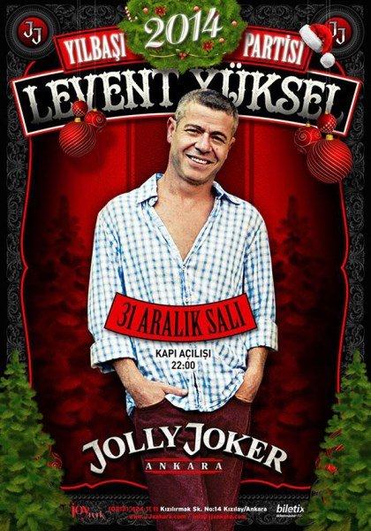 Jolly Joker Ankara 2014 Yılbaşı Programı