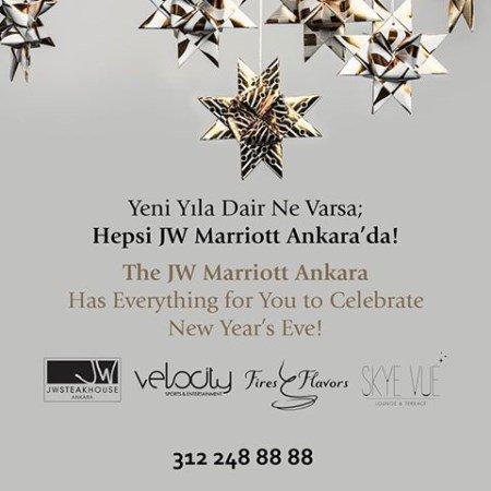 JW Marriott Ankara Yılbaşı 2016