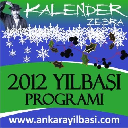 Kalender Zebra 2012 Yılbaşı Programı