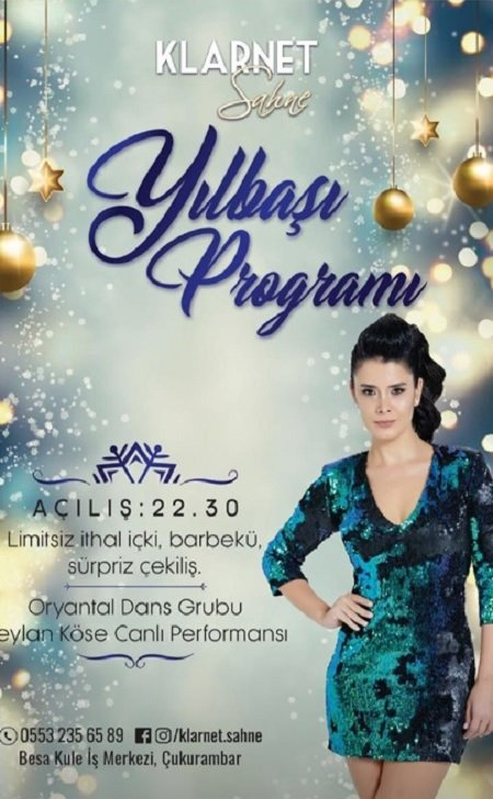 Klarnet Sahne Ankara Yılbaşı 2019
