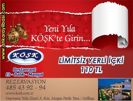 Köşk Restaurant 2011 Yılbaşı Programı
