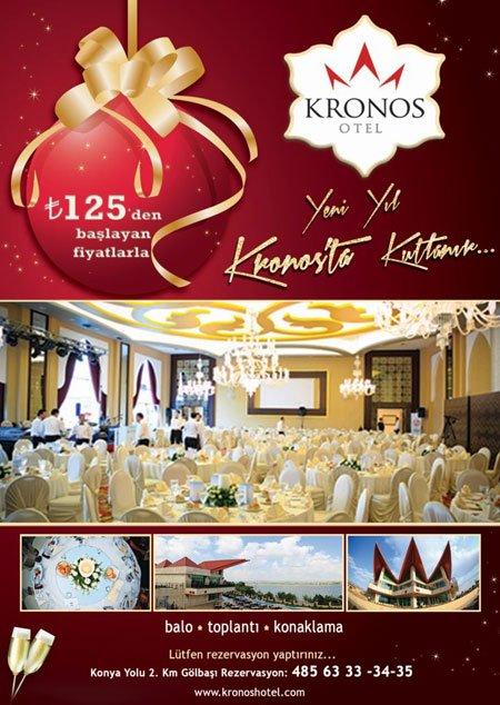 Kronos Otel 2013 Yılbaşı Programı
