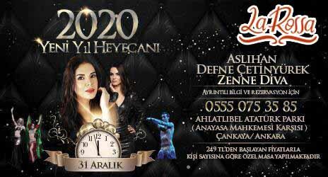 La Rossa Ankara Yılbaşı 2020