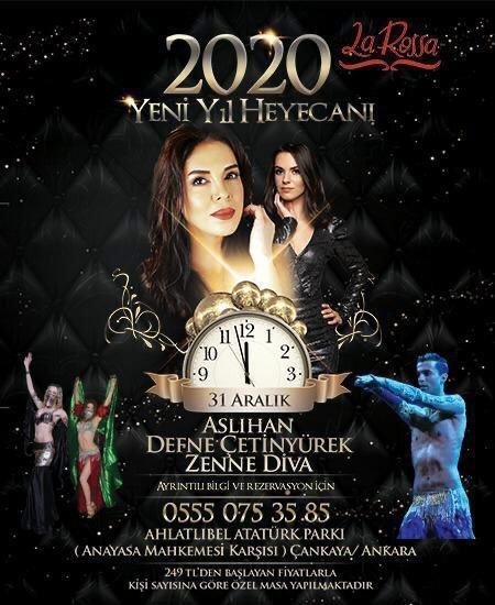 La Rossa Ankara Yılbaşı Programı 2020