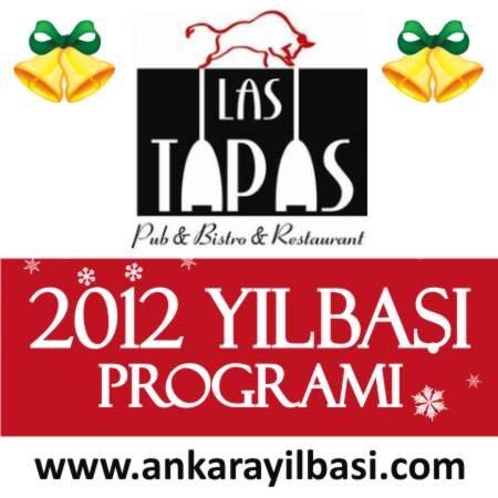 Las Tapas Pub 2012 Yılbaşı Programı