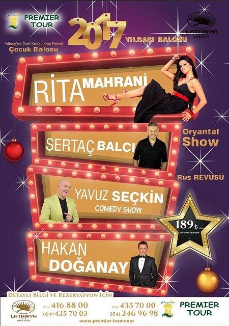 Latanya Hotel Ankara Yılbaşı 2017