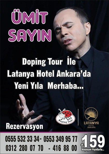Latanya Hotel Ankara Yılbaşı 2016