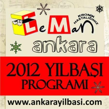 Leman Kültür Kızılay 2012 Yılbaşı Programı
