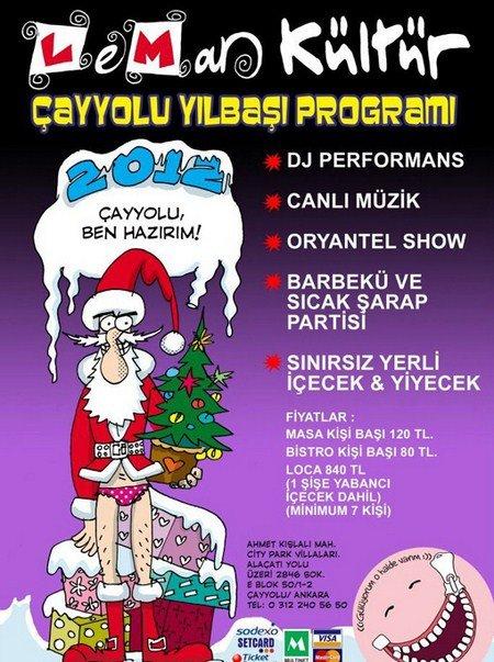 Leman Kültür Çayyolu 2012 Yılbaşı Programı