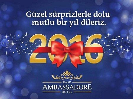 Limak Ambassadore Yılbaşı Programı 2016