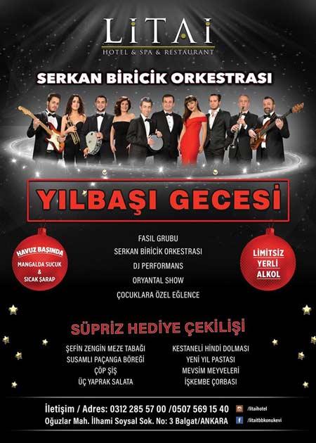 Litai Otel Ankara Yılbaşı Programı 2020