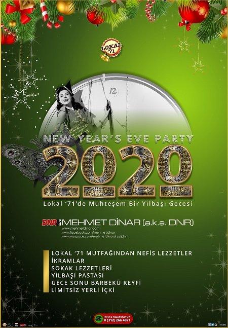Lokal 71 Bilkent Yılbaşı 2020
