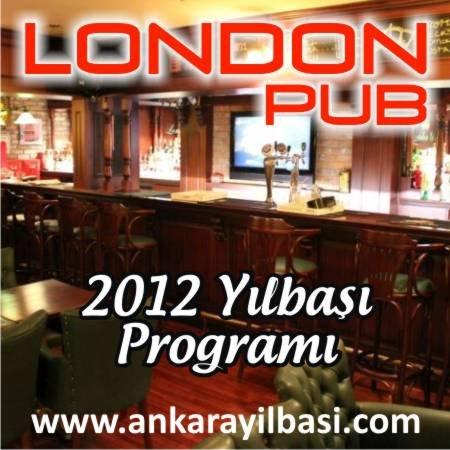 London Pub 2012 Yılbaşı Programı