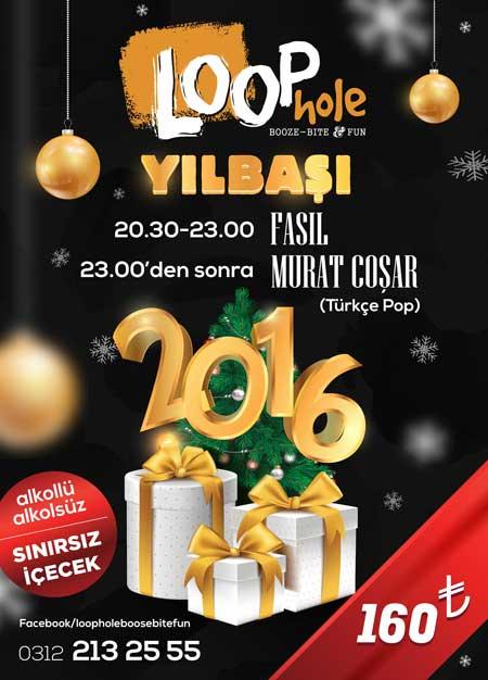 Loophole Ankara Yılbaşı 2016