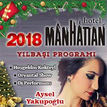 Manhattan Hotel Yılbaşı Programı 2018