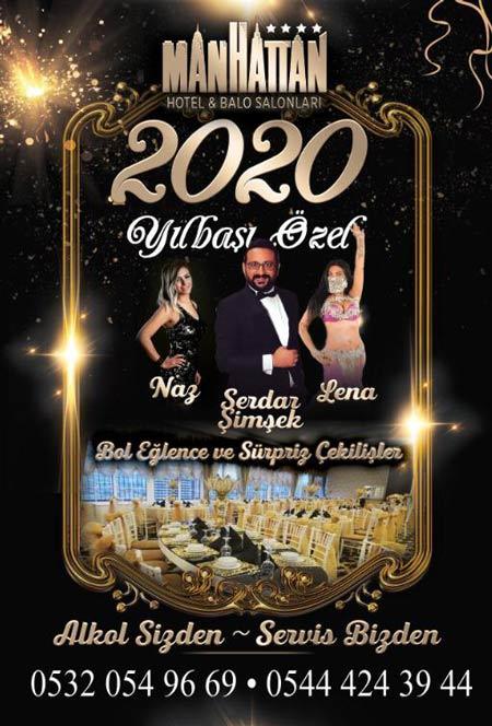 Manhattan Hotel Yılbaşı 2020