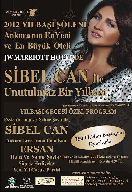 Marriott Hotel Ankara 2012 Yılbaşı Programı