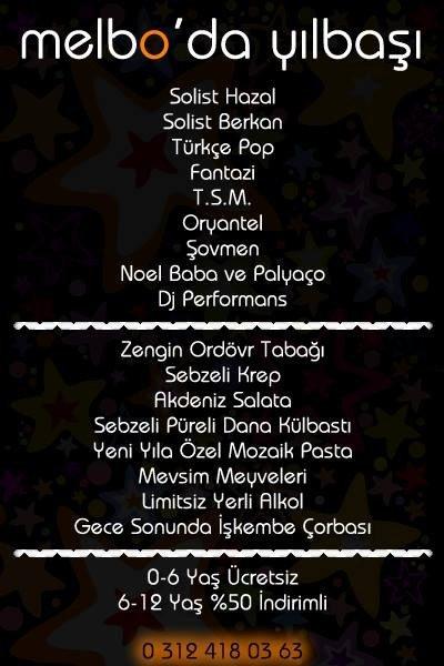 Melbo Yılbaşı Programı 2015