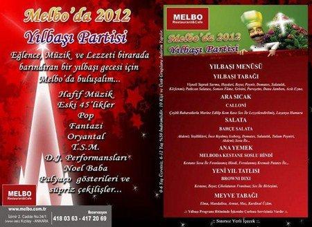 Melbo 2012 Yılbaşı Programı