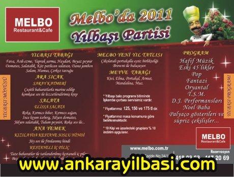 Melbo Restaurant Cafe 2011 Yılbaşı Programı