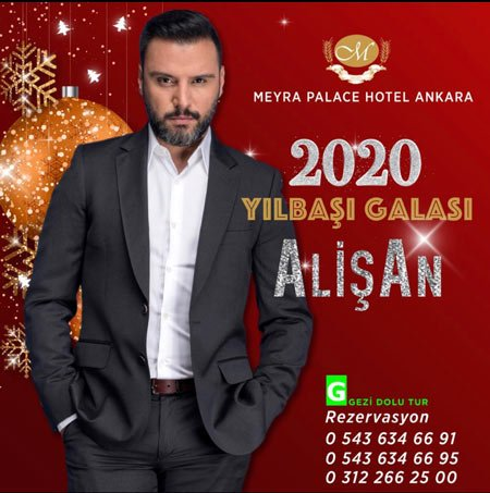 Meyra Palace Hotel Yılbaşı 2020