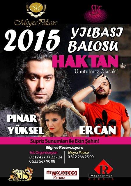 Meyra Palace 2015 Yılbaşı Programı