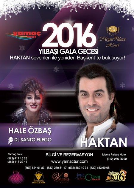 Meyra Palace Yılbaşı Programı 2016