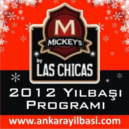 Mickeys by Las Chicas Arjantin Caddesi 2012 Yılbaşı Programı