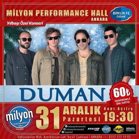 Milyon Performance Hall Yılbaşı 2019