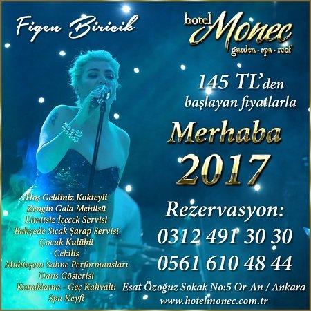 Hotel Monec Yılbaşı Programı 2017